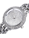 14k White Gold or Platinum Ladies Ariel Wristwatch
