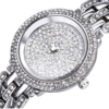 14k White Gold or Platinum Ladies Ariel Wristwatch